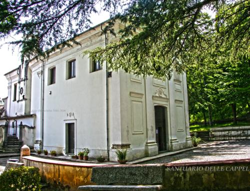 Santuario delle Cappelle a Laino Borgo